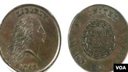 El centavo fue vendido en una subasta numismática en Florida.