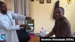 Yakubu Kibo kwamandan NDLEA na Jihar Adamawa shi ne ta hannun dama hodar ibilis da aka boye cikiin wata naura