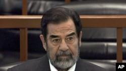 Колишній президент Іраку Саддам Гуссейн