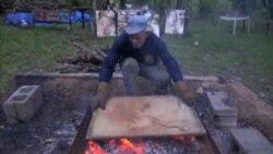 Slikanje vatrom
