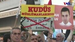 Taksim'de Mavi Marmara Protestosu