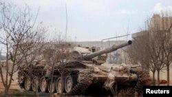 Сирійські повстанці ефективно використовують американські ПТРК проти танків Асада.