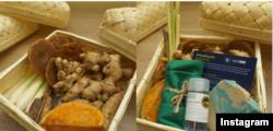 Produk 'healthy kit', yang dikemas dengan bahan ramah lingkungan, di tengah wabah COVID-19. (Foto: IG@ellojello.id)