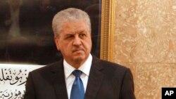 Le Premier ministre algérien Abdelmalek Sellal à Alger (Algérie) le jeudi 6 avril 2017.