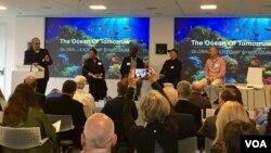 Acara penganugerahan 'Peter Benchley Ocean Awards' di Smithsonian, Washington DC hari Kamis (11/5) malam.