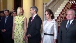 Իվանկա Թրամփը հանդիպել է Պարագվայի նախագահի և կին արվեստագետների հետ