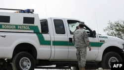 Hoạt động tuần tra biên giới của Hoa Kỳ tại Hidalgo, Texas (ảnh tư liệu)