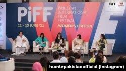 فرئیر ہال میں منعقد ہونے والے اس فیسٹول میں ملک بھر سے مایہ ناز شوبز شخصیات کے ساتھ ساتھ حکومتی نمائندوں نے بھی شرکت کی۔