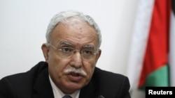 巴勒斯坦外長馬勒基(資料圖片)