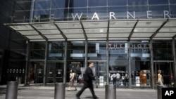 美国通讯业巨头时代华纳(Time Warner)公司的大楼