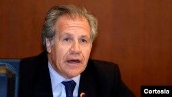 El secretario general de la OEA, Luis Almagro, aplaudió al Consejo Permanente por fijar fecha para tratar la situación venezolana.