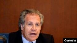 Luis Almagro, Sekretè Jeneral l'OEA.