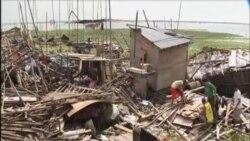 """超級颱風""""威馬遜""""向中國南部移動"""