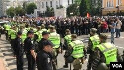 Участников Марша равенства в Киеве охраняли усиленные наряды полиции