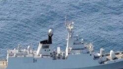 中国否认火控雷达锁定日本舰机