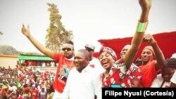 Moçambique – Eleições 2014 - Filipe Nyusi (Chimoio, provincia de Manica)