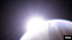 El planeta Gliese 581 cumple con las condiciones de temperatura y gravedad para poder habitarlo.