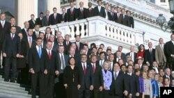 دامرېکا نوي کانگرس نن خپله لومړئ غونډه وکړه.