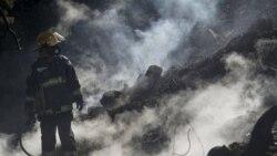 چهارمین روز نبرد بین المللی با شعله های سرکش آتش در اسرائیل