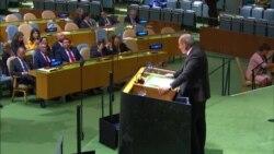 ՄԱԿ-ում Նիկոլ Փաշինյանը խոսեց «Հայկական սիրո և համերաշխության ոչ բռնի թավշյա հեղափոխություն» մասին