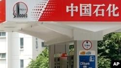 中石化加油站(资料照片)