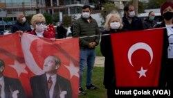 10 Kasım 2020 - Kadıköy'de Ata'ya Saygı Zinciri