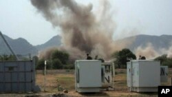 Une forte explosion près d'une concession des Nations unies dans l'Etat du sud Kordofan, 14 juin 2011