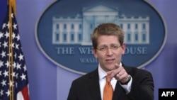 Пресс-секретарь Белого дома Джей Карни. Вашингтон. 24 февраля 2011 года