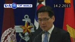 Nam Triều Tiên ra mắt tên lửa đạn đạo mới (VOA60)