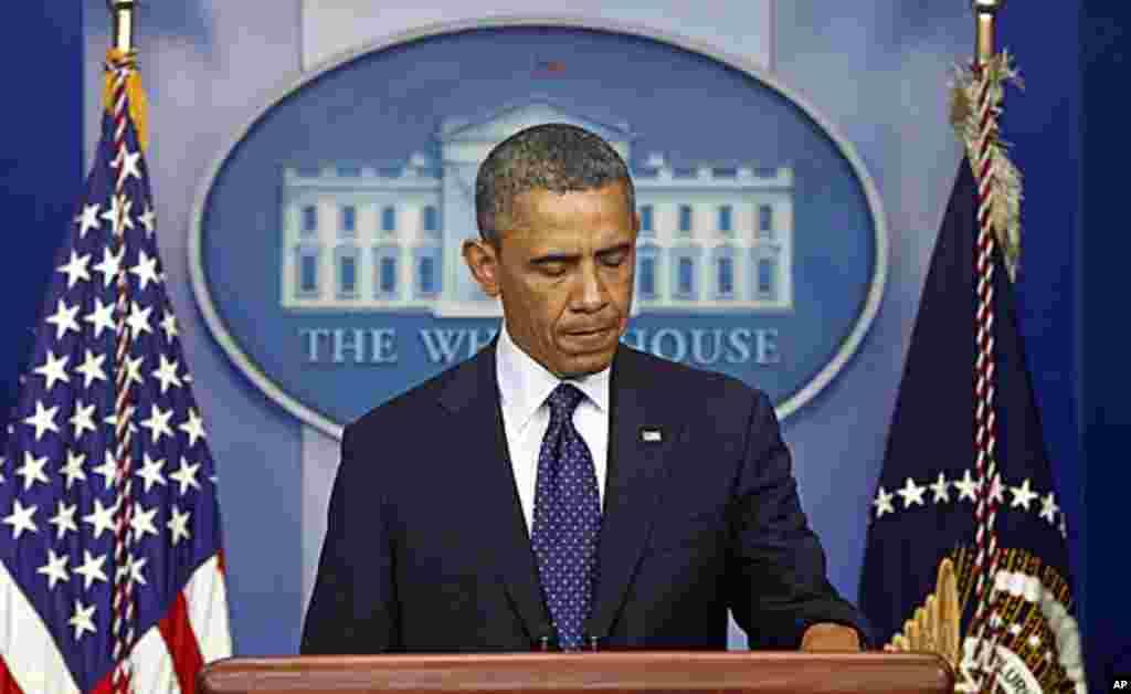 Виступ Барака Обами. Президент США пообіцяв знайти винних.