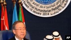 Mideast Kuwait Syrian Aid