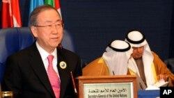 Tổng Thư ký LHQ Ban Ki Moon.
