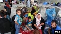 تهاجم داعش هزاران خانوادۀ ایزدی را از مناطق شان آواره ساخت