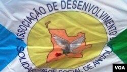 Bandeira da ADSSA, Associação de Desenvolvimento e Solidariedade Social de Angola