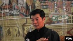 西藏流亡政府總理洛桑森格