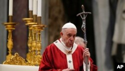 Umwungere wa Ekleziya Katorika Papa Francisko
