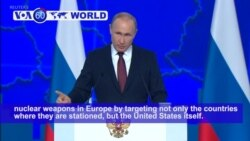 VOA60 World - Putin Threatens US with New Weapons if Missiles Deployed to Europe