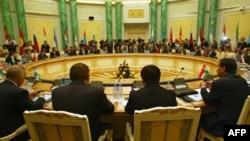 Саммит стран-членов Шанхайской организации сотрудничества (архивное фото)