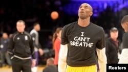 Kobe Bryant, star du basketball américain.