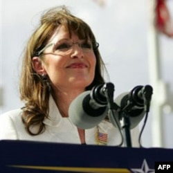 Republican vice presidential candidate Sarah Palin in 2008