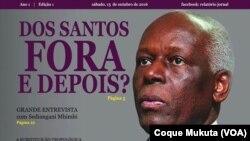 """Semanário """"Relatório 10"""", Angola"""