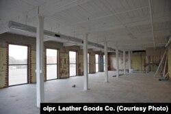 Майбутня майстерня-офіс у приміщенні колишньої бавовняної фабрики