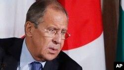 Le ministre Sergueï Lavrov lors d'une réunion sur la Syrie, à New York, le 22 septembre 2016.