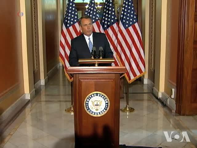 Impasse Perists Between Obama, Boehner on Budget