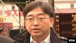 香港食物及衛生局局長高永文(視頻截圖)