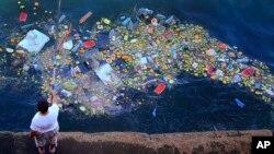 海洋垃圾。