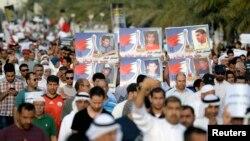 تطاهرات مخالفان دولت در منامه - ۴ آوریل ۲۰۱۴