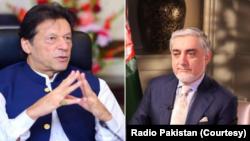 وزیر اعظم عمران خان اور افغان رہنما عبداللہ عبداللہ نے بدھ کو فون پر بات کی۔