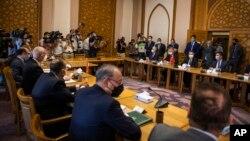 Türk ve Mısır heyetleri toplantısı