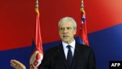 Predsednik Srbije Boris Tadić obraća se javnosti povodom odluke EU da odloži odluku o kandidaturi do marta
